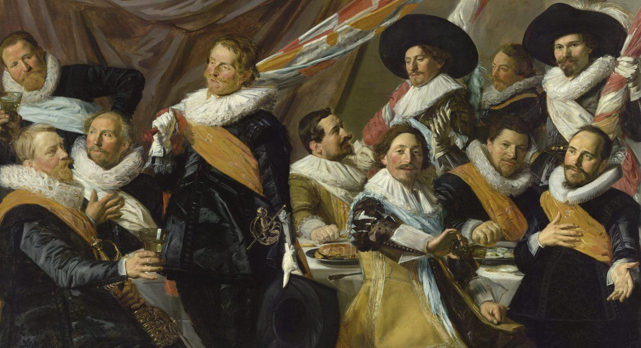 Topstuk Frans Hals Museum: Feestmaal van de officieren van de St. Jorisschutterij
