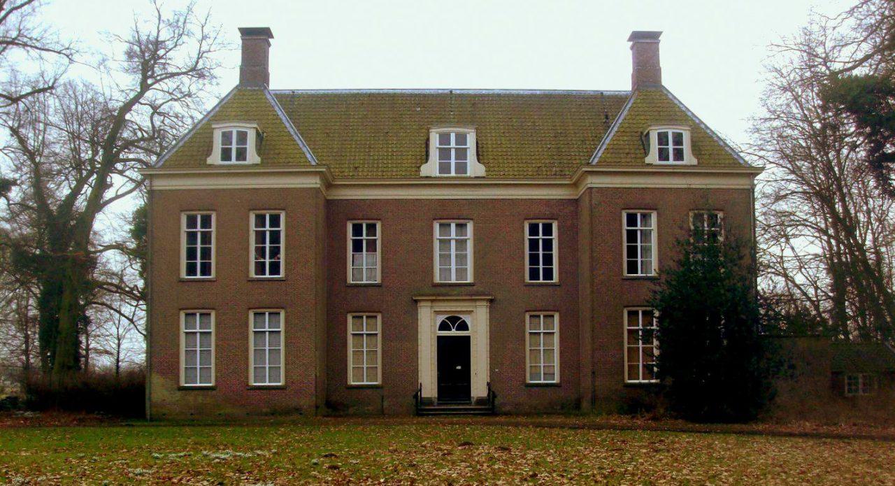 Landhuis Oud Amelisweerd in de winter