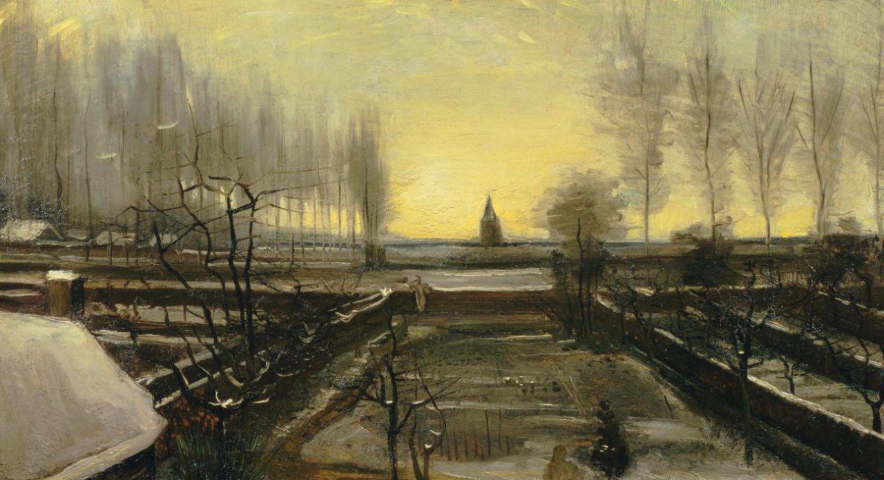 Vincent van Gogh Tuin in Nuenen 1885